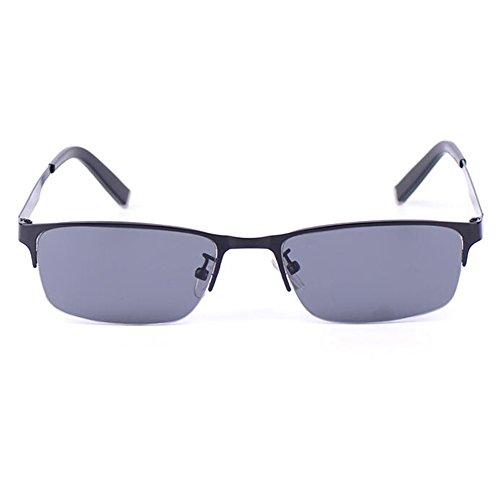 SUNGLASSES GJY Männer Polarisierte Licht Treiber Sonnenbrille Bewegung Titanlegierung Metallrahmen Anti-UV HD Kann Mit Myopie Brille (Color : #2)