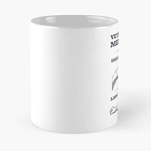 Veterinarian Veterinary Vet Tech Technician Science Large Animal Small Equine Bovine - Best 11 Ounce Cerámica Coffee Mug Gift
