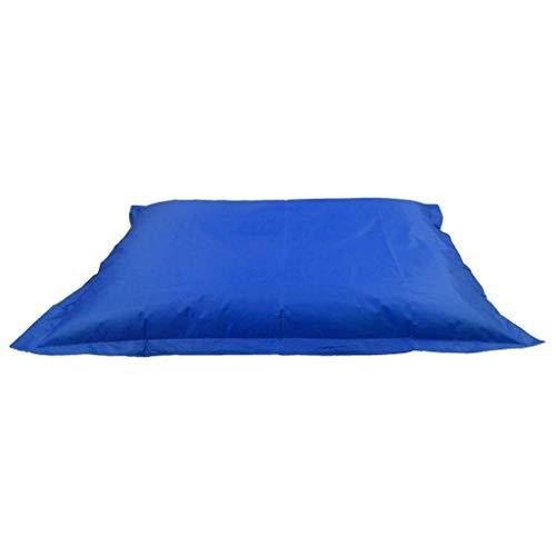 Tubayia Sitzsackhülle ohne Füllung Sitzsack Bezug Hülle Riesensitzsack für Wohnzimmer Schlafzimmer (Dunkelblau)