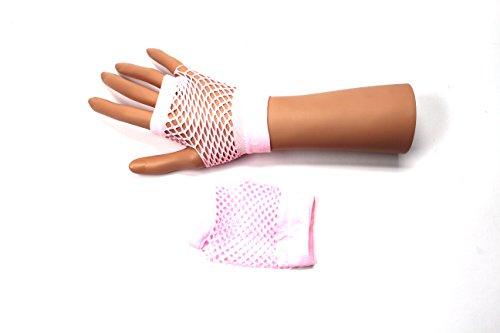 Polsini guanti corti e lunghi senza dita guanti lavorati a