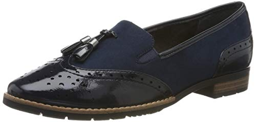 Jana Softline Damen 8-8-24260-23 Slipper, Blau (Navy 805.0), 40 EU