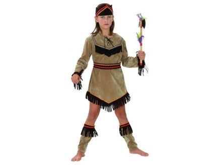 Kostüme Indianer Mädchen 10-12 Jahre (Euro Carnavales Kostüme)