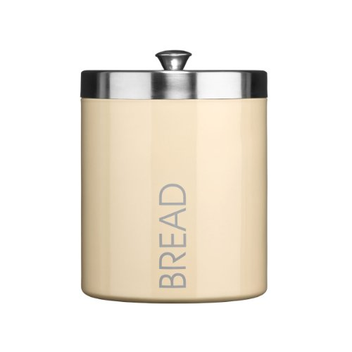 panera-bread-bin-cream-colour-enamel-satin-stainless-steel-lid-attractive-and-shine-quality