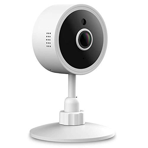 JIEJIEZ Kamera Smartphones WiFi, Baby-Monitor-Sicherheits-Haustier-wasserdichte drahtlose HD IP-Kamera mit Pan- / Neigungsfunktions-Sicherheits-Haustier-Kameras (Activity Baby Monitor)