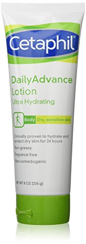 Cetaphil Daily Advance Ultra Hydrating Lotion, 8.0-Ounce Tubes(Pack of 2) by Cetaphil BEAUTY (English Manual)