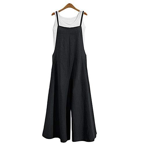Petos de Pantalones Largo para Mujer, Morbuy Casual Verano Baggy Harem