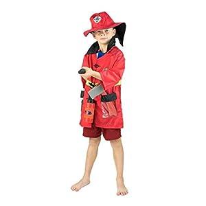 Bodysocks® Disfraz de Bombero para Niños