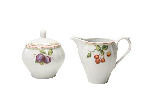CreaTable 17035, Serie Flora Orchard, Geschirrset Milch- und Zuckerset 2 teilig