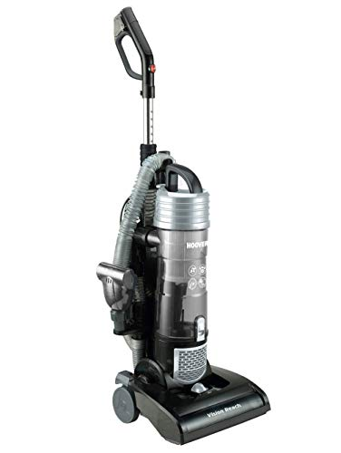 Hoover 39100502 Vision Reach 31 VR 10, Bürstsauger für alle Hart-und Teppichböden, 5-fache Florhöhen-Einstellung, geeignet, 3 liters, Schwarz