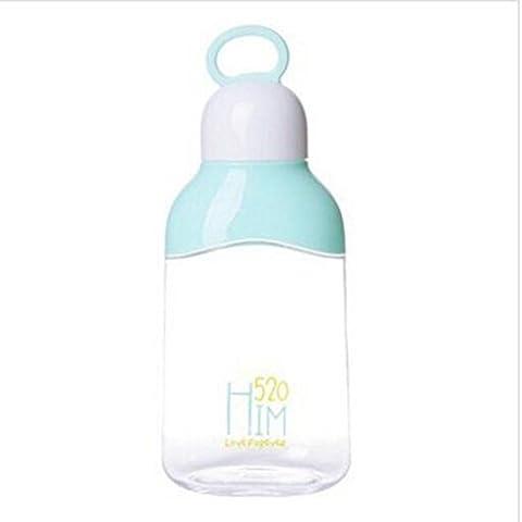 Z@SS-Creative large capacity flat water bottle men and women summer