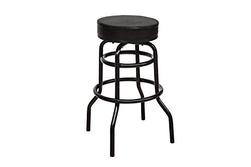 """Bar-Stuhl """"Blacky"""", Lederimmitat,schwarz"""