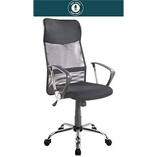 SPS-Racing Exclusiver Designer Bürostuhl - AIRO - ergonomischer Drehstuhl Schreibtischstuhl höhenverstellbar Chefsessel Executive Office Chair schwarz