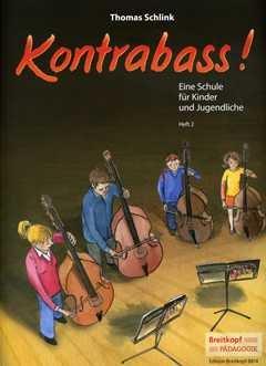 Kontrabass 2 - arrangiert für Kontrabass [Noten / Sheetmusic] Komponist: SCHLINK THOMAS