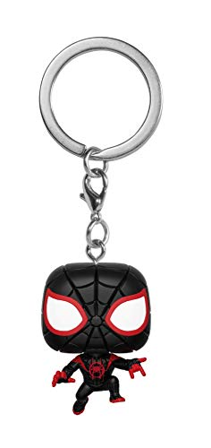 FunKo 34756 Marvel Into The Verse: Spider-Man Miles POP Schlüsselanhänger Figur, Multi