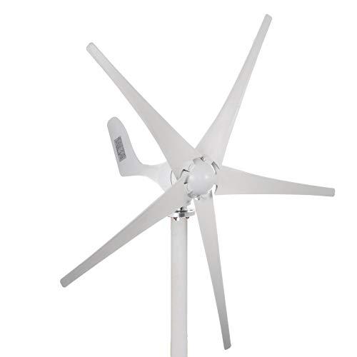 Husuper 500W 12V Wind Turbine Generator DC 5 Blatt Niedrige Windgeschwindigkeit Garten Straßen Leuchten Wind Turbine Mit Laderegler