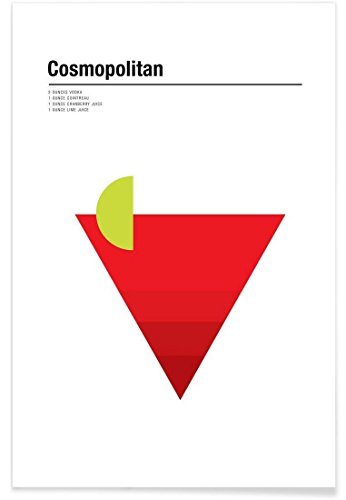 JUNIQE® Poster 40x60cm Cocktails - Design