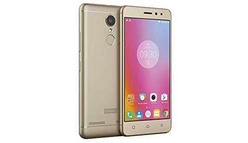 Lenovo K6 Note 3GB Ram Gold Smartphones at amazon