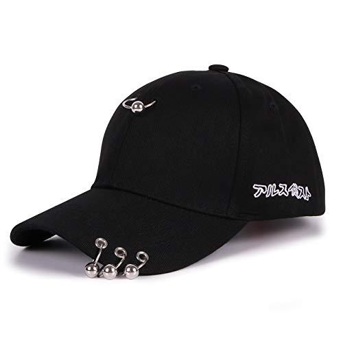 Hut männlich sommermütze baseballmütze lässig Sport mesh Cap Sonnenhut weiblich Baumwolle schwarz Erwachsene Modelle (55-60cm)