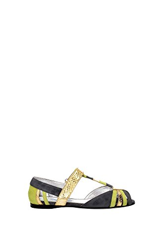 Sandali Prada Donna - (1X703GNEBBIAFELCE) EU Multicolor