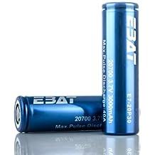 Ebat 20700 30A 3000mAh batteria (2 Batterie - Caso VIPERTECH incluso)
