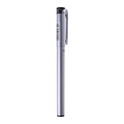 Wanfor Gelschreiber, Metall, für Studenten, Schule, Büros, Schreibutensilien Length: 13.8cm(5.43in) silber