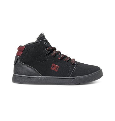 DC Shoes Crisis High Wnt, Chaussures Premiers pas garçon Noir (Black/Battleship/Ath)