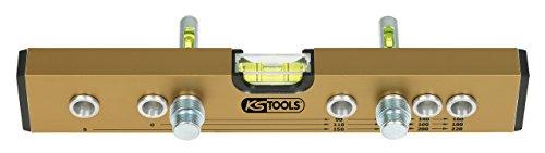 KS Tools 204.2000 Normabstandswasserwaage / Montage-Anschluss-Lehre, 300 mm