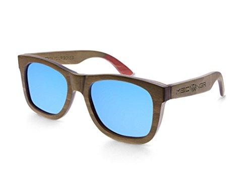 7c43b28740 Mosca Negra Sunglasses Occhiali da sole - Uomo Marrone marrone Talla única