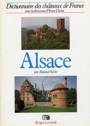 Alsace. par Roland Recht