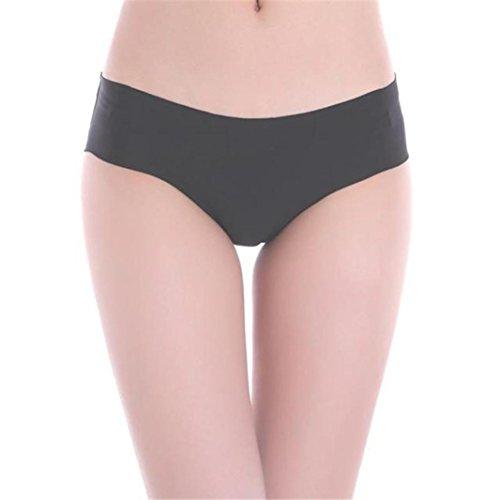 Baumwolle Spandex Bikini (HCFKJ 2017 Mode 7 STÜCK SATZ Frau Unsichtbarer Unterwäsche Thong Baumwolle Spandex Gas Seamless Crotch (7 STÜCK SATZ, L))