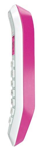 Motorola Startac S1201 DECT Schnurlostelefon (Analog, Freisprechen, ECO-Modus, Displaybleuchtung auf Gerätefarbe abgestimmt) pink - 4
