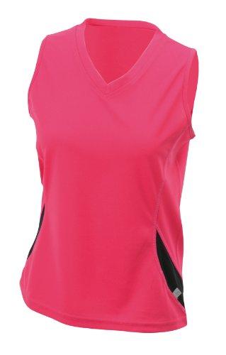 james-nicholson-ladies-running-tank-camiseta-tirantes-de-running-para-mujer-color-baya-negro-talla-x