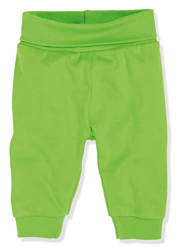 Schnizler Kinder Pump-Hose aus 100% Baumwolle, komfortable und hochwertige Baby-Hose mit elastischem Bauchumschlag, Grün (Grün 29), 50 -