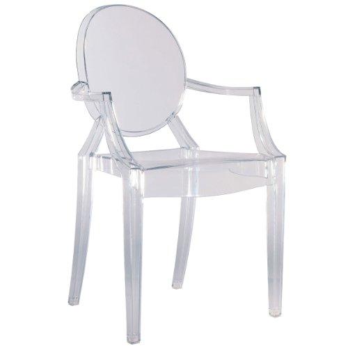 Preisvergleich Produktbild Kartell 4852B4 Stuhl Louis Ghost Glas klar