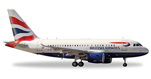 Preisvergleich Produktbild Herpa 562560 - British Airways Airbus A318