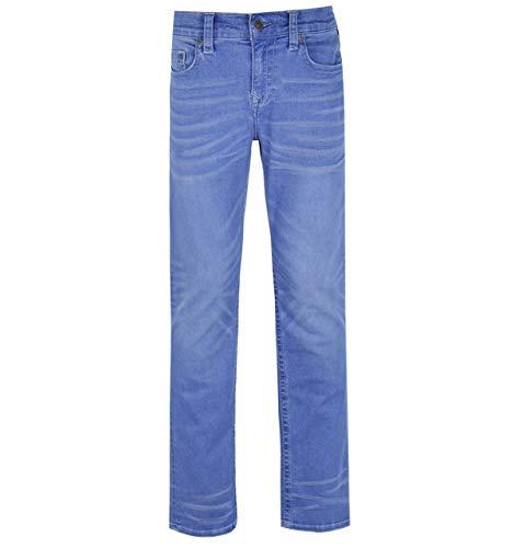 True Religion Ricky No Flap - Hellblaue Jeans mit Waschung