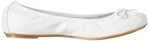 Marco Tozzi Mädchen 42403 Geschlossene Ballerinas Weiß (White 100)