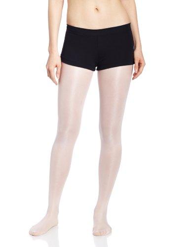 Capezio TB113 Ballett Shorts Lowrise Black - Frauen Shorts Capezio