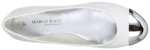 Marco Tozzi 2-2-22141-20 Damen Ballerinas Weiß (White 100)