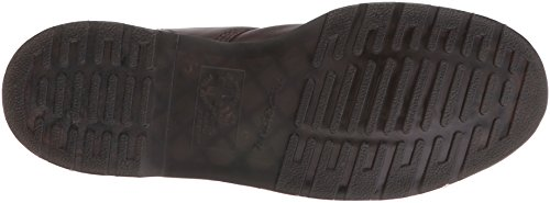 Dr.Martens Womens 939 6 Eyelet Soft Buck Nubuck Boots Dark Brown