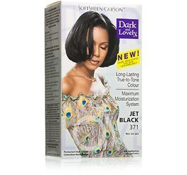 Dark and Lovely Permanent Hair Color Jet Black by Dark & Lovely (Jet Loreal)