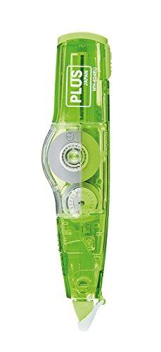plus-japan-43993-correttore-roller-mr-a-forma-di-penna-ricaricabile-ecologico-6-m-x-42-mm-verde