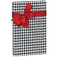 Houndstooth Black Gift Wrap 15 Foot Roll Wrapping Paper by Premium Gift Wraps preisvergleich bei billige-tabletten.eu