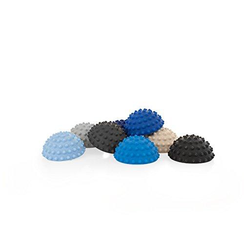 AFH-Webshop 8er-Set | TheraPIE Balance Igel MINI in trendigen Blautönen | Durchmesser: 9 cm | Gymnastik Igel | Igelball | Kleiner Balance Igel, ideal für Kinder