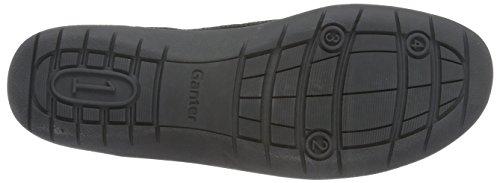 Ganter - Gill, Weite G, Scarpe stringate Donna Nero (Schwarz (schwarz 0100))
