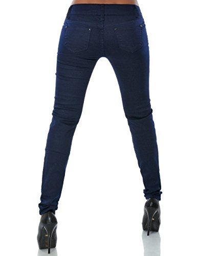 Damen Jeans Hose Skinny (Röhre weitere Farben) No 14103 Blau