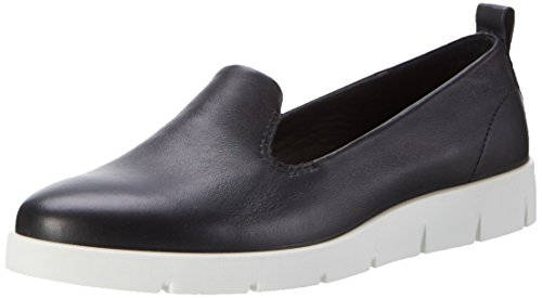 Bella Loafer (Ecco Damen Bella Slipper, Schwarz (1001BLACK), 39 EU)