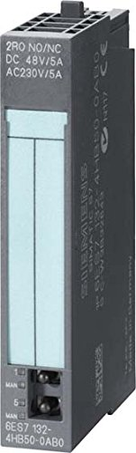 SIEMENS ST76 - JUEGO MODULO ELECTRONICO 2SD RELE 24V-48V/5A(5U)