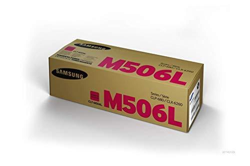 Samsung SU305A CLT-M506L High Yield Toner Cartridge, Magenta, Pack of 1