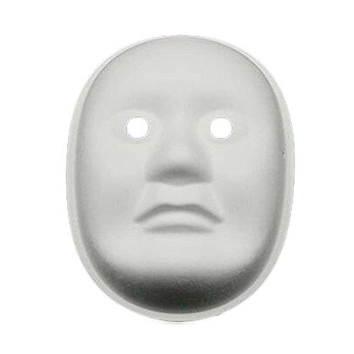 10 PC-Weiß-Masken-Malerei Vollgesichtsmaske Blank Maske DIY Papier-Schablonen-Kostüm-Maske